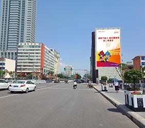 迎泽大街与千峰…